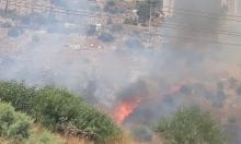 حرائق في حيفا والناصرة وبرطعة والقدس