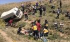 تركيا: 15 قتيلا إثر تعرض حافلة تقل مهاجرين لحادث طرق
