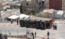طرعان: إصابة بانقلاب شاحنة