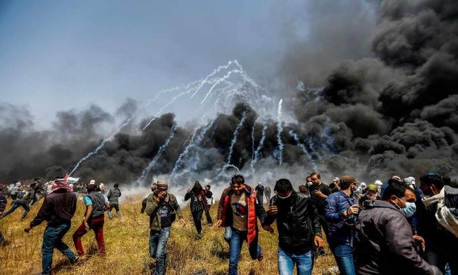 تقرير: 628 انتهاكا للاحتلال بقطاع غزة