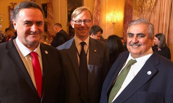 استمرار حفل التطبيع البحريني: كاتس يلتقي آل خليفة في واشنطن