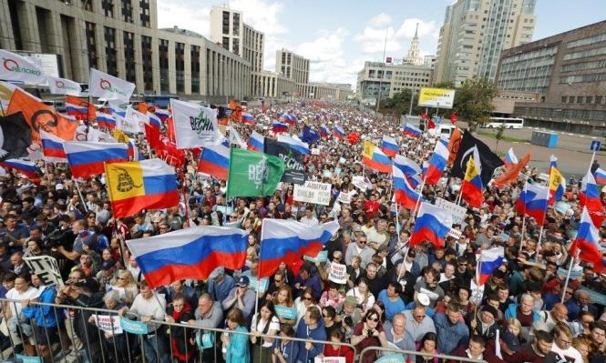 روسيا: آلاف المتظاهرين في موسكو للمطالبة بانتخابات حرة