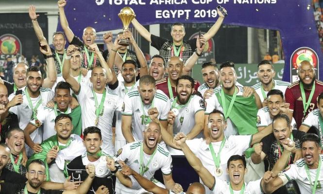 الجزائر يحصد اللقب الإفريقي الأسمى