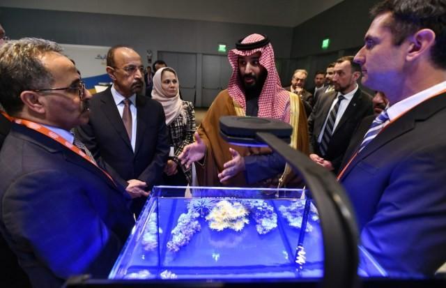 """""""نيوم بن سلمان ستعتمد على التقنية الإسرائيلية"""" (أ ب)"""
