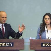 """عودة """"اليمين الجديد"""": رئاسة القائمة لشاكيد"""