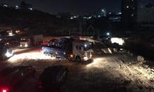 الاحتلال يخلي المئات من حي وادي حمص ويهدم منازلهم