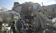 19 قتيلا في غارات روسية على سوق  بريف إدلب