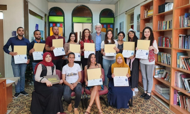 """مركز """"إعلام"""" يختتم دورة مهنية للصحافيين الشباب"""