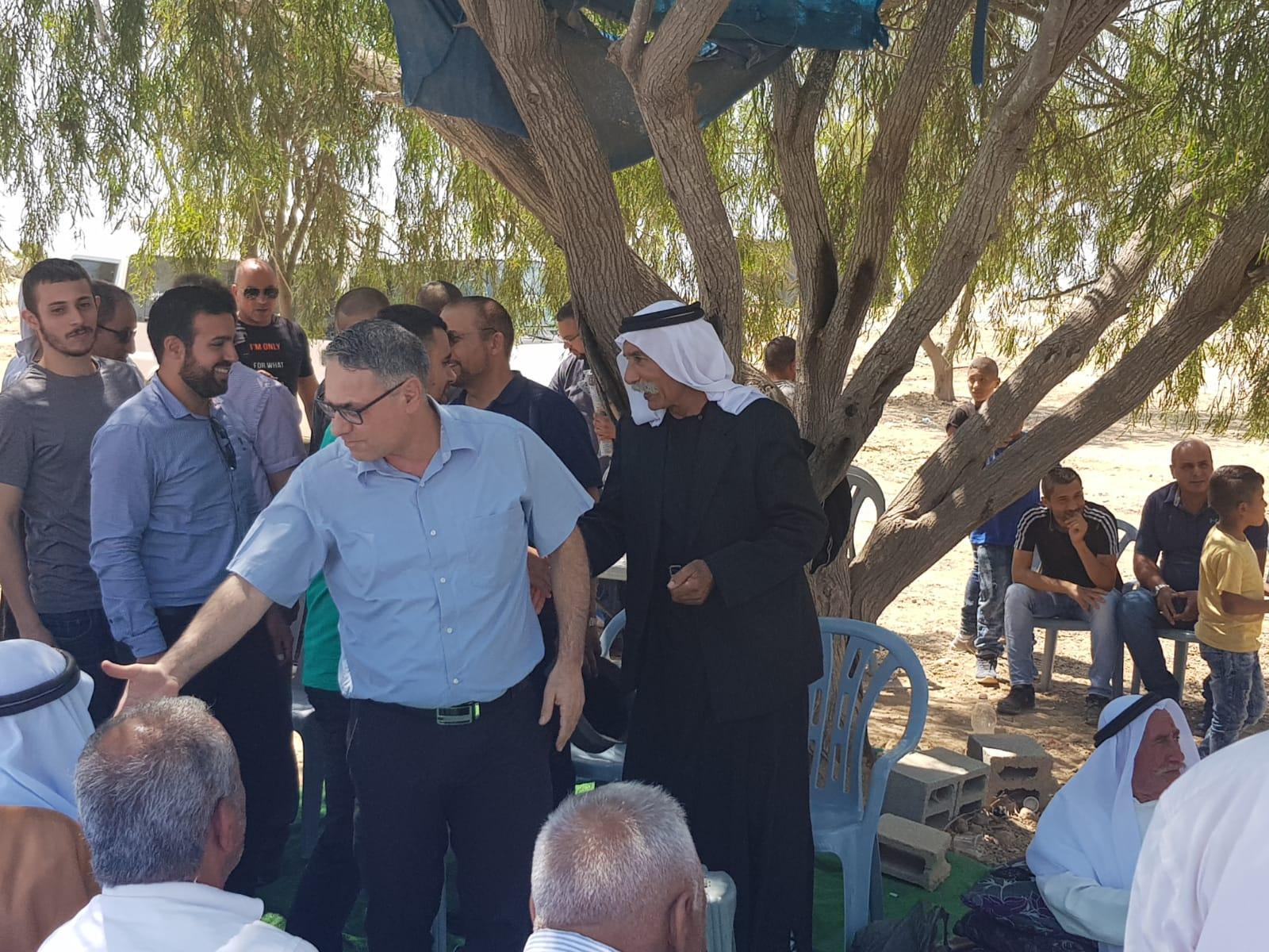 التجمع يزور العراقيب مهنئا بالإفراج عن الشيخ صياح الطوري
