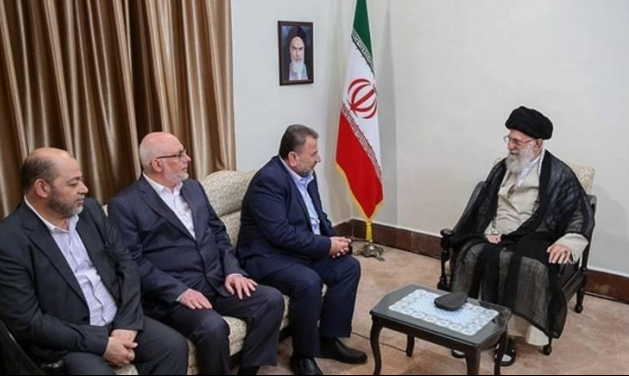 """وفد """"حماس"""" إلى طهران يجتمع بمسؤولين إيرانيين"""