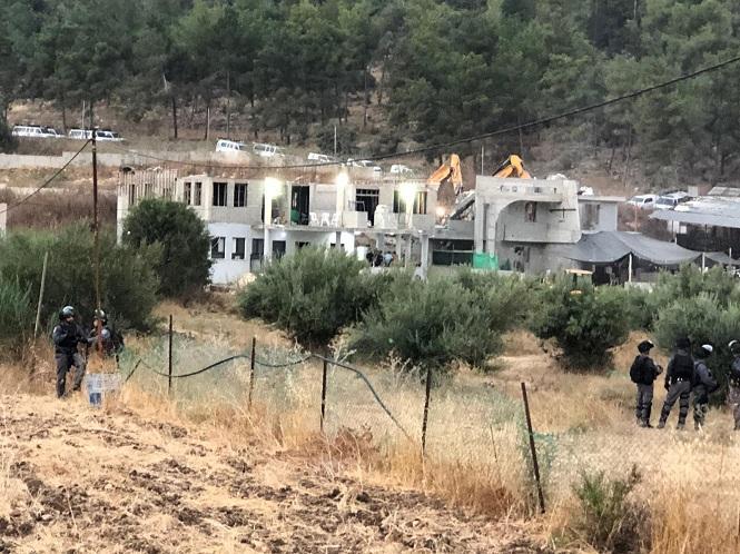 عرعرة: السلطات تهدم منزل عائلة مرزوق