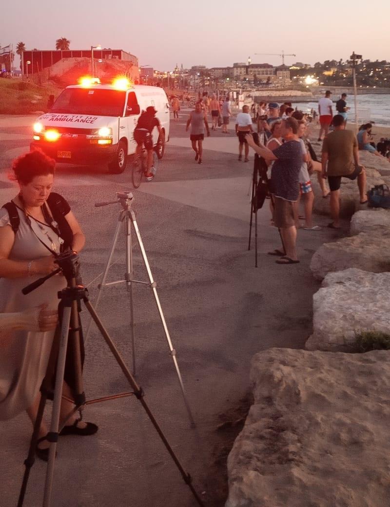 البحث عن غريق أمام شاطئ مسجد حسن بيك