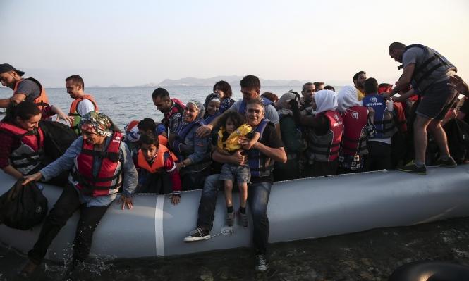اليونان: زيادة بـ30% بأعداد المهاجرين واللاجئين القادمين من تركيا