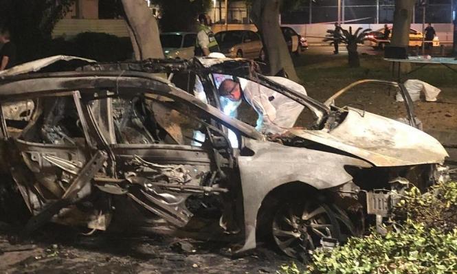 يافا: مقتل شاب بانفجار في سيارة