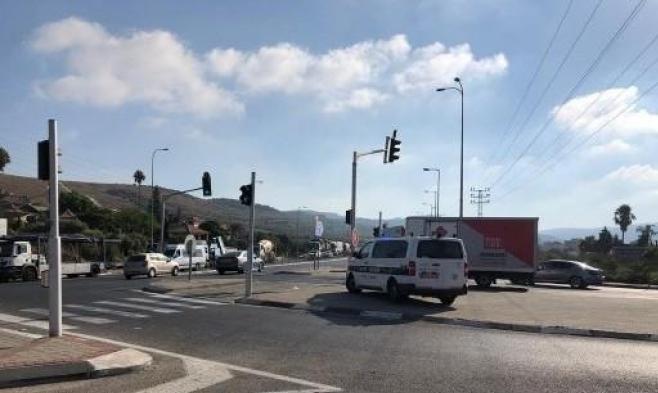 وادي عارة: إصابة خطيرة لعابر سبيل في حادث دهس