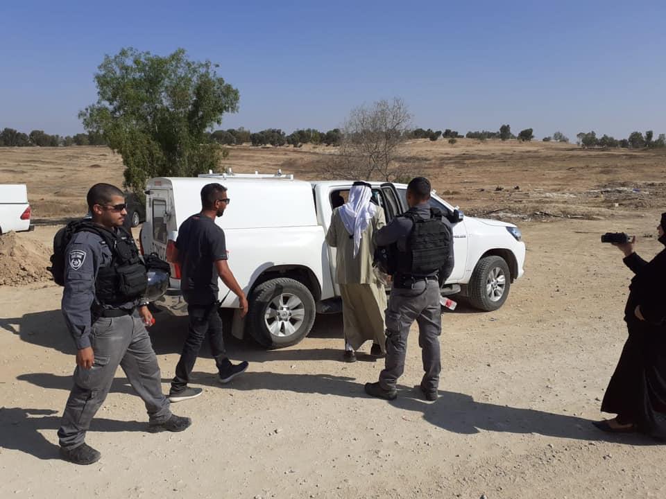 هدم العراقيب للمرة 147 واعتقال الشيخ صياح الطوري