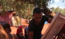 مدارس النازحين بسورية تحت ظل الزيتون