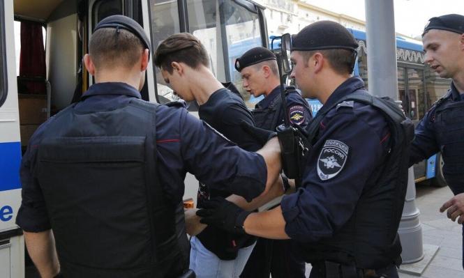 روسيا: اعتقال أكثر من ألف شخص خلال مظاهرة للمعارضة