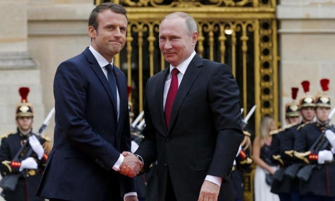 بوتين وماكرون يلتقيان الشهر المقبل