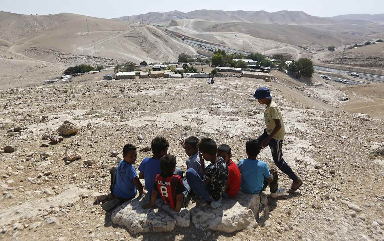 الفلسطينيون يواجهون خطر الاقتلاع في مناطق ج (أ ب)