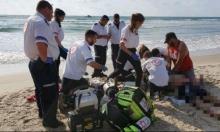 مصرع  شابة وشاب غرقًا في شاطئ قرب حيفا