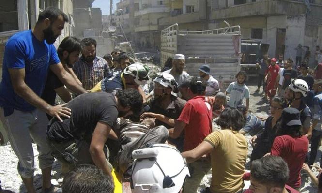 مقتل 7 مدنيين بغارات للنظام وروسيا بريف حماة