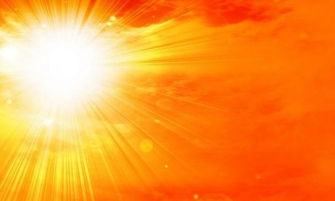 حالة الطقس: أجواء حارة جدا والحرارة فوق معدلاتها