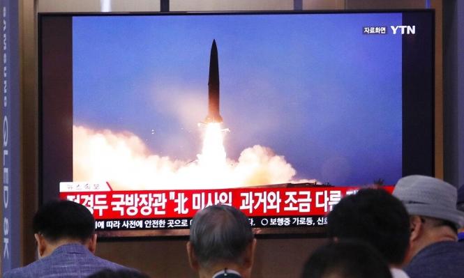 كوريا الشمالية أطلقت صاروخين بالستيين باتجاه بحر اليابان