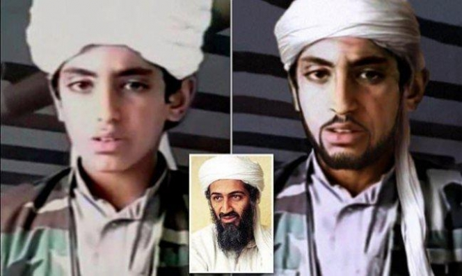 أنباء عن موت حمزة بن لادن