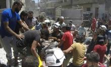 سورية: 450 ألف نازح خلال شهور قصف إدلب وحماة