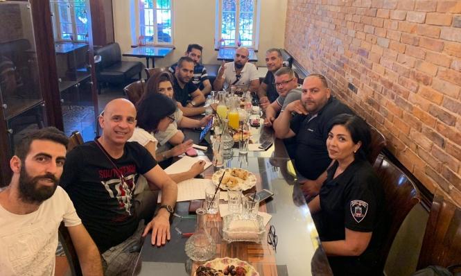 حيفا: إضراب المطاعم في شارع بن غوريون