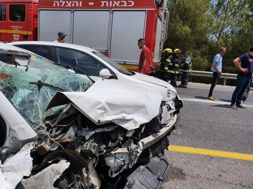 3 إصابات في حادث طرق قرب يافة الناصرة