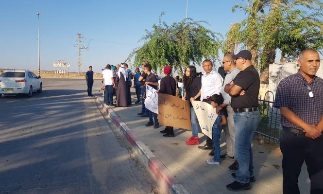 اللقية: وقفة احتجاجية ضد القتل والعنف