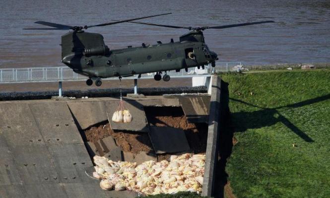 الجيش البريطاني في حالة طوارئ بسبب سد للمياه!