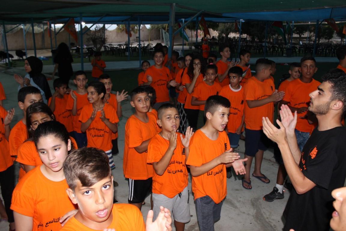 """انطلاق مخيم الهوية التاسع عشر تحت عنوان """"القدس لنا"""""""