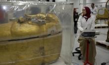 مصر: بدءأول عملية ترميم لتابوت توت عنخ أمون المذهب