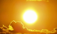 حالة الطقس: أجواء حارة جدا والحرارة أعلى من معدلاتها