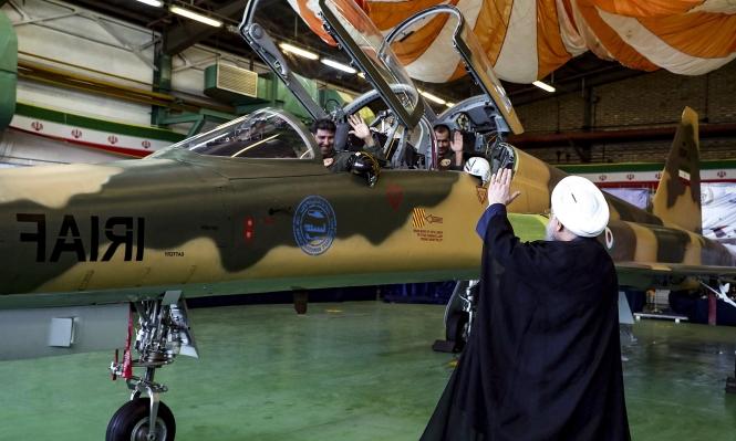 سقوط طائرة حربية إيرانية قرب الخليج العربي