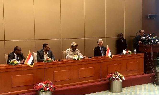 السودان: التوقيع بالأحرف الأولى على الوثيقة الدستورية