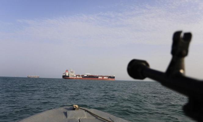 """إيران: ناقلة النفط المحتجزة عراقية """"محملة بالوقود المهرب"""""""