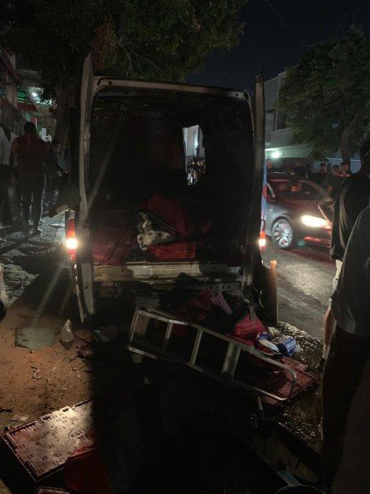 انفجار سيارة في باقة الغربية