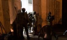 اعتقالات بالضفة والعيسوية واستهداف للصيادين ببحر غزة
