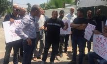 اجتماع للجنة المتابعة في خيمة اعتصام عائلة أبو كشك ضد الهدم
