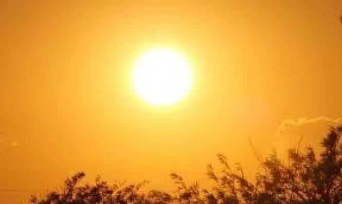 حالة الطقس: جو حار جدا
