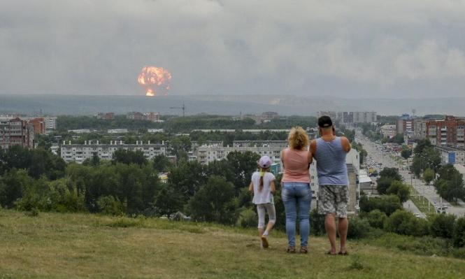 سيبيريا: انفجارات هائلة استمرت 16 ساعة وإخلاء الآلاف