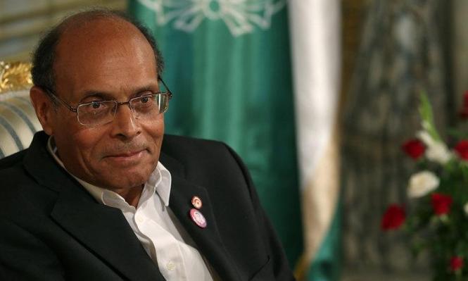 المرزوقي يعلن ترشحه لرئاسة تونس