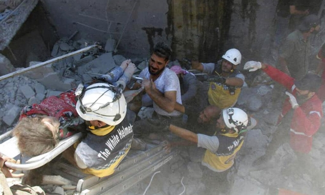 قتلى وجرحى باستئناف طائرات النظام وروسيا الغارات على إدلب