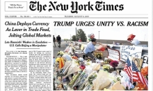 """""""نيويورك تايمز"""" تغير عنوانا """"خفف"""" عنصرية ترامب"""