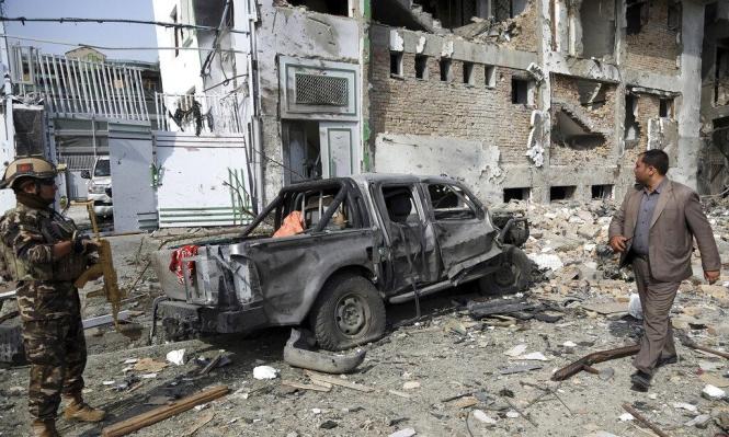 إصابة 80 شخصا بهجوم بسيارة مفخخة بالعاصمة الأفغانية