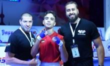 أول ميدالية قارية بتاريخ الملاكمة الفلسطينية الناشئة يحصدها الواعد شكوكاني